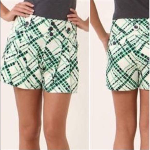 Anthropologie Pants - Anthropologie Hei Hei Geometric Print Shorts 4